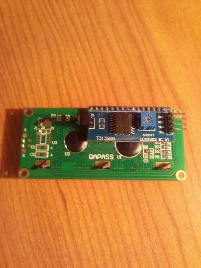 Adaptador LCM1602 para la pantalla LCD