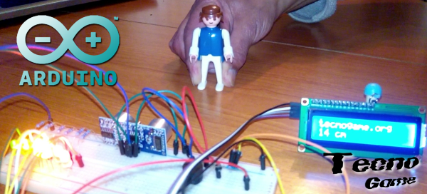 Detectando obstáculos con un sensor de ultrasonidos y Arduino
