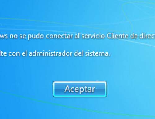 """Arreglar el error """"Windows no se pudo conectar al servicio Cliente de Directiva de Grupo"""" en Windows 7"""