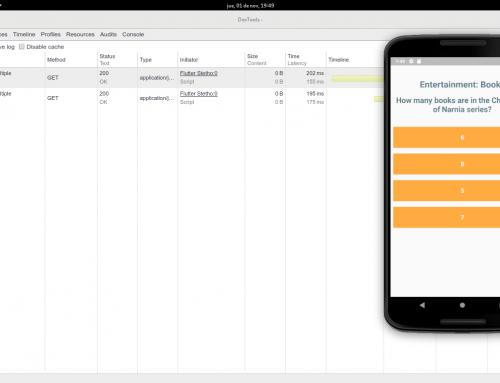 Analizar solicitudes HTTP de nuestra aplicación con la librería Stetho